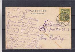 Lettonie - Carte Postale De 1932 - Oblit Riga - Exp Vers Tallinn - Latvia
