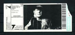 JOHNY WINTER  (2007) - Concert Tickets