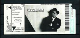 VAN MORRISON  (2007) - Concert Tickets