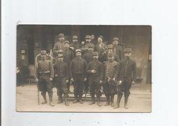 MARSEILLE (13) CARTE PHOTO AVEC MILITAIRES 1914 - Altri