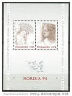 DENEMARKEN 1992 Blok Nordia 94 PF-MNH-NEUF - Dänemark