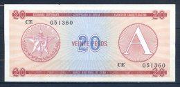 486-Cuba Billet De 20 Pesos CE051 Série A - Cuba