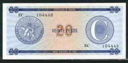 486-Cuba Billet De 20 Pesos EC104 Série C Neuf - Cuba
