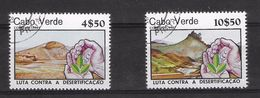 EDY 511 - CAPO VERDE CABO 1981 , Due Valori Usati - Isola Di Capo Verde
