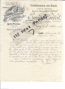 54 - Meurthe-et-moselle - NANCY - Facture CULOT - Scierie - Commerce De Bois - 1906 - REF 71B - France