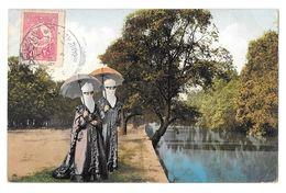 (15855-00) Turquie Constantinople - En Promenade Deux Femmes Turques - Turchia