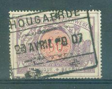 """BELGIE - OBP  TR 37 - Cachet  """"HOUGAERDE"""" - (ref. 13.909) - 1895-1913"""