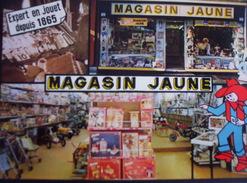 Amiens - Magasin Jaune. Publicitaire.. - Amiens
