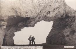SAUDI ARABIA--RARE-abu Makhrouq Passage Through Which King Abd Al-aziz-munistry Of Information--carte Photo-voir 2 Scans - Arabie Saoudite
