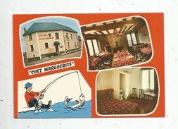 Cp , Hôtels & Restaurants , A L'AUBERGE CHEZ MARGUERITE , 53 , DAON , Vierge , Ed : Combier, Multi Vues - Hotels & Restaurants