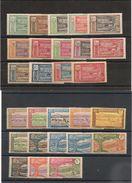 CAMEROUN Année 1925/27 N°Y/T : 106/132*/** Côte. 70,00 € - Unused Stamps