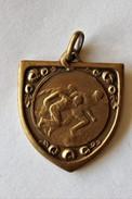 Stad Veurne Furnes Belgique 1927 Ancienne Médaille Bronze Récompense  Course Athlétisme - Athlétisme