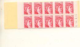 FRANCE - Carnet N° 2059 C4a - Gomme Tropicale - Conf. 8 Cote = 75 € - Carnet Ouvert - Markenheftchen
