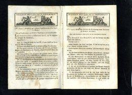 1929-bulletin Des Lois-ref-23577     N ° 286 Lycée à Rennes   Etc... 16   Pages    Document Original - Decrees & Laws