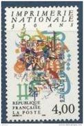 "Timbre France Yt 2691 "" Imprimerie Nationale 350 Ans"" 1991 Neuf - France"