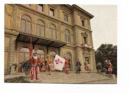 FIRENZE FIGURANTI CALCIO IN COSTUME DAVANTI PALAZZO DEI CONGRESSI NV FG - Firenze
