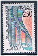 Timbre France 1991 Yt N°2704 MNH ** Pont De Cheviré, Nantes Neuf - France