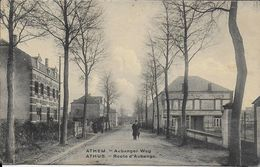 ATHUS ..-- Route D' AUBANGE . Maison COURARD . - Aubange
