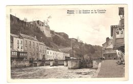 Namur / Namen - La Sambre Et La Citadelle - Carte Vernie - Namen