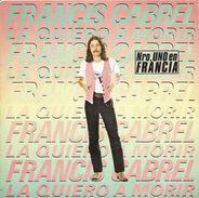 """Francis Cabrel  """"  La Quiero A Morir  """" - Vinyl Records"""