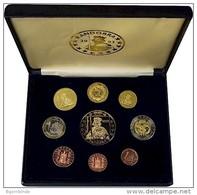 ANDORRA 2003 - 9 Verschiedene Probe/Pattern-Euro 1 Cent Bis 5 Euro - Jetons & Médailles