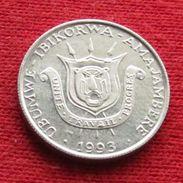 Burundi 1 Franc 1993 KM# 19 - Burundi