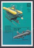 Turks & Caicos Islands -  Michel Bl 173 - XX - Cote 5.50 Euro - Poissons