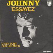 "Johnny Hallyday "" Essayez "" - Vinyl-Schallplatten"