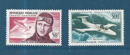 France PA De 1955/59 N°34 Et 35 Neufs * Tres Petite Trace De Charnière - Poste Aérienne