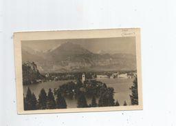 BLED (SLOVENIE) CARTE PHOTO LAC EGLISE - Slovénie