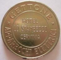 Jeton. Gettone Apparecchi Elettrici. Hôtel Lo Stambecco. Cervinia - Italie