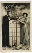 Barometre  De L' Amour   Couple Envoi à Martainville Beuzeville Eure Meteo - Tarjetas De Fantasía
