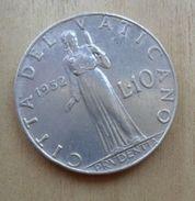 10 LIRE DEL VATICANO 1952 DI PIO XII° - - Vaticano