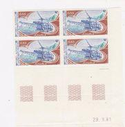 T A A F     N° YVERT  :   92 COIN DATE 29/9/81     NEUF SANS CHARNIERES - Terre Australi E Antartiche Francesi (TAAF)