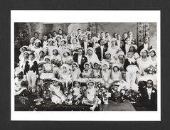 COUPLES - THE WEDDING PARTY 1932 - 6½ X 4¾ Po - 16½ X 12 Cm - PHOTO JAMES VAN DER ZEE - Couples