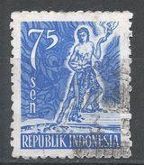 Indonesia 1953. Scott #384 (U) Mythological Hero, Héros Mythologique - Indonésie
