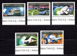 2009 TURKEY 70TH ANNIVERSARY OF THE MINISTRY OF TRANSPORT AND COMMUNICATION MNH ** - Unused Stamps