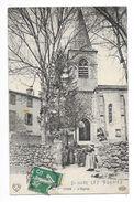 SAINT-OURS-LES-ROCHES  (cpa 63)   L'Eglise -   - L 1 - France