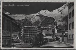 Saas-Fee Und Alphubel - Hotel Glacier, Grand Bazar - Photo: Perrochet No. 12098 - VS Valais