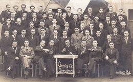 GUEUGNON   CARTE PHOTO  CLASSE 1942 - Gueugnon