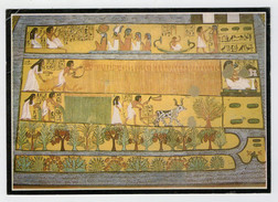 MAXICARD    LUXOR   TOMB  OF  SENNEDJEM   WORKERS  VILLAGE         2 SCAN   (VIAGGIATA) - Luxor