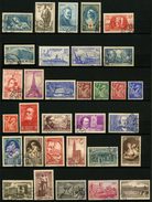 FRANCE - ANNEE COMPLETE 1939 - YT 419 à 450 - 32 TIMBRES OBLITERES - ....-1939
