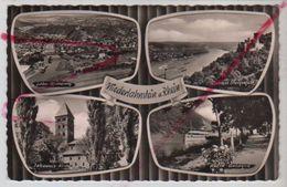 Cpsm St003225 Niederlahnstein Am Rhein 4 Vues Sur Carte - Lahnstein