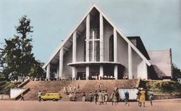 CAMEROUN---YAOUNDE--la Cathédrale----voir 2 Scans - Cameroun