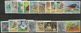 Aitutaki - 1978 Officials Overprints Set Of 16 CTO     Sc O1-16 - Aitutaki