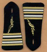 Epaulettes Armée De L´air  -  Galon De Lieutenant-Colonel - Uniformes