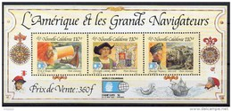 Nouvelle-Calédonie - Bloc Feuillet - 1992 - N° Yvert : BF 14 ** - Blocks & Sheetlets