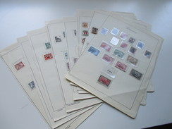 Sammlung Danzig ** / * / O Mit Ein Paar Besseren Marken! Viele Marken Auf Alten VD Seiten. Stöberposten / Fundgrube?? - Briefmarken