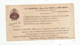 Publicité , LA SALESIENNE , Oeuvres Des Soeurs De DON BOSCO , Paris , Religion - Advertising