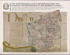 2013 Italien Mi. Bl 72 Used   550. Jahrestag Der Festlegung Der Grenzen Von San Marino - 6. 1946-.. Republik